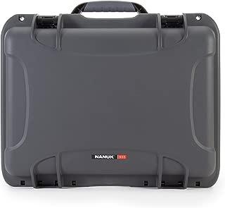 Nanuk 933 Waterproof Hard Case Empty - Graphite