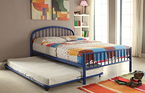Acme Furniture 30460T BU Cailyn Bed Twin Blue