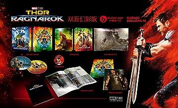 THOR RAGNAROK Blu-ray 3D Steelbook [Blufans Collection Double Lenticular Slip Region-Free Limited Edition]
