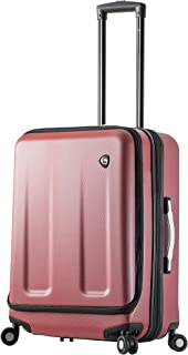 Mia Toro Italy Esotico 24 Inch Spinner Luggage, Red, One Size