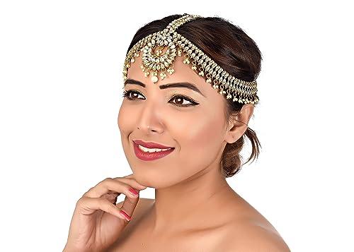 Matha patti bridal set