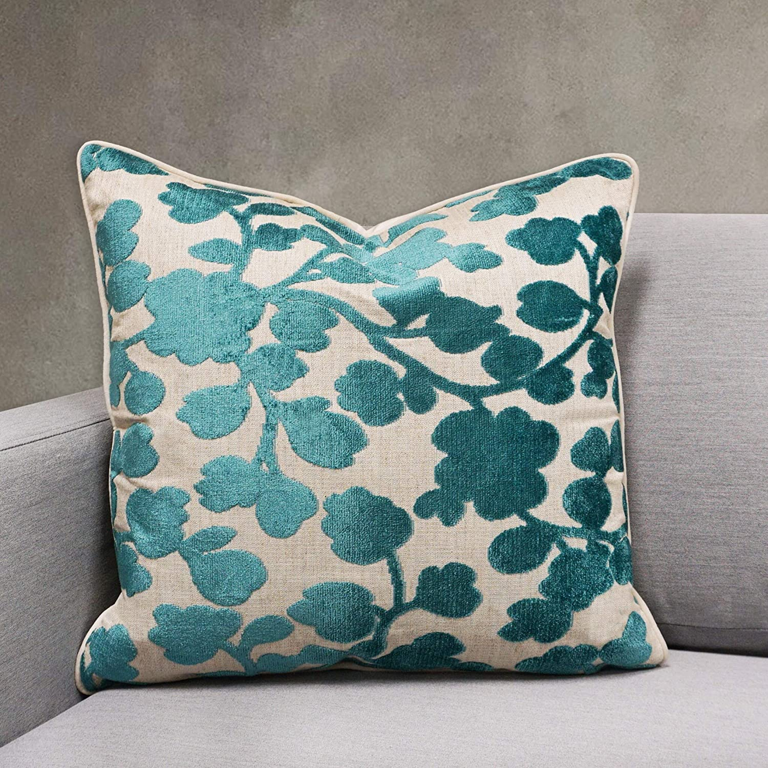 Unknown1 Blossom Cut Challenge the lowest price Velvet Throw Floral Outlet ☆ Free Shipping Mo Pillow 20