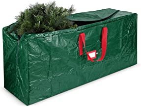 2Krmstr Christmas Light Storage Bag Holiday Ornament Storage Container with Zipper Seal Clear Window Light String Storage Bag Artificial Christmas Tree Storage Bag