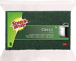 Scotch-Brite Éponge Fibre uniquement Lot de 2 Vert - Classique