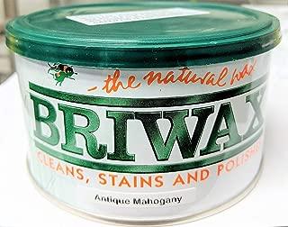 Briwaxアンティークマホガニー家具ワックスポリッシュ、スカルプ、しみ、とポリッシュ。