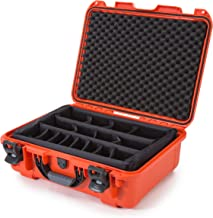 Nanuk 930 Waterproof Hard Case with Padded Dividers - Orange - Made in Canada