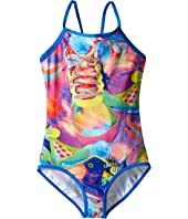 Seafolly Kids - Tagged Loop Back Tank Top (Little Kids/Big Kids)