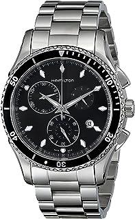 Hamilton - Reloj Cronógrafo para Hombre de Cuarzo con Correa en Acero Inoxidable H37512131