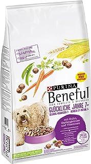 Beneful Gelukkig Volwassen 7+ Hondenvoer, Senior Hondenbrokken met Kip & Groenten, 12kg