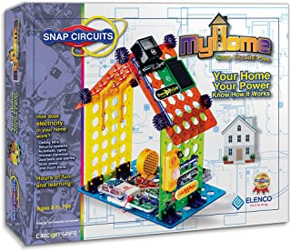 Elenco Snap Circuits My Home Plus Electronics Building Kit for Kids Ages 8 and Up, Amazon Exclusive