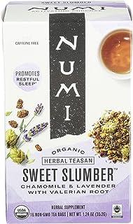 NUMI Organic Sweet Slumber Herbal Tea, 1.24 OZ