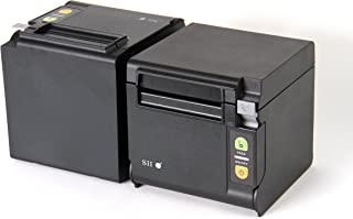 Seiko Instruments USA Inc. Qaliber RP-D10-K27J1-S Direct Thermal Printer - Monochrome - Desktop - Receipt Print RP-D10-K27J1-S2C3