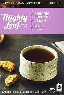 Mighty Leaf, Tea Coconut Assam Organic, 15 Count