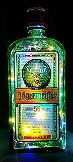 Jägermeister – Lámpara de botella con 80 ledes multicolor, idea de regalo