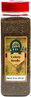 International Spice Premium Gourmet Spices- CELERY SEEDS WHOLE: 16 oz