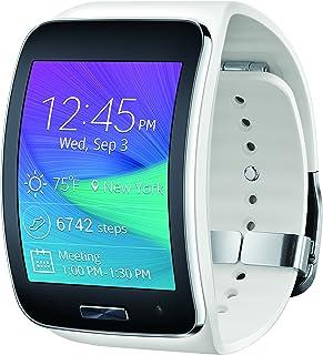 TEST Samsung Gear S Smartwatch, White 4GB (Verizon Wireless)