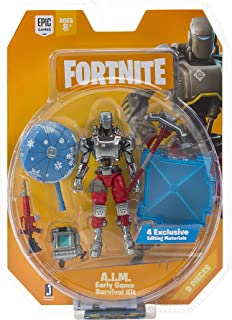 Fortnite Early Game Survival Kit Figure Pack, A.I.M.