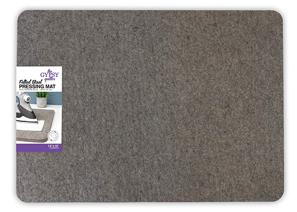 Wool Pressing Mat 14-1/3in Wide x 18-7/8in Long x 1/2in Thick