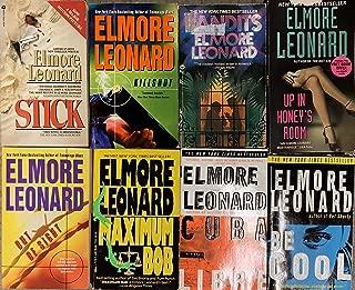 Elmore Leonard Fiction Novel Collection 7 Book Set
