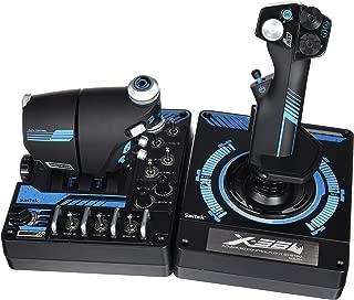 Saitek Pro X-56 Rhino H.O.T.A.S. Video Game Flight Controller for PC (SCB432210002/01/1)