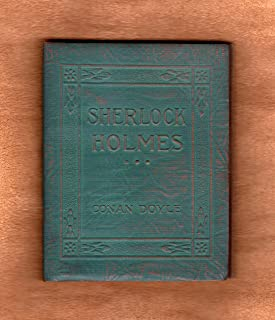 Tales of Sherlock Holmes: Little Leather Library-green-miniature-leatherette