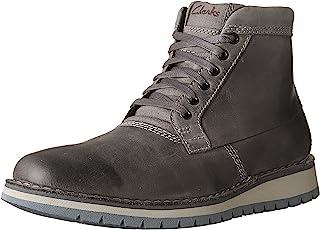 حذاء برقبة تصل إلى الكاحل بأربطة من Clarks Varby