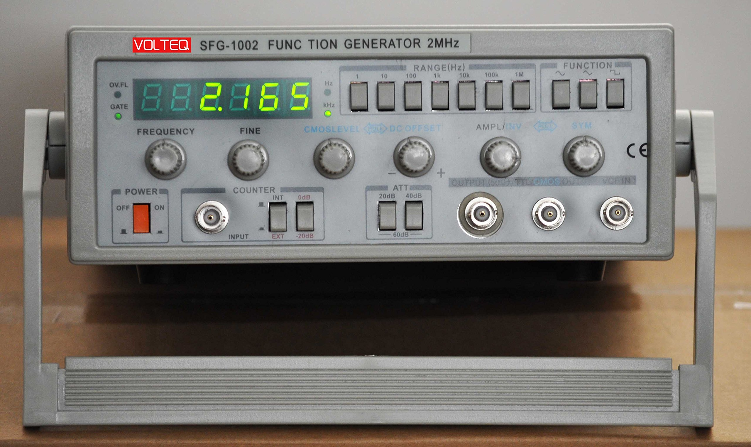2 MHz Function Generator/Frequency Counter SFG-1002