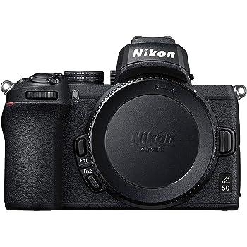Nikon Z 50 DX-Format Mirrorless Camera Body, Black (Renewed)