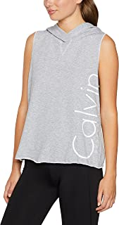Calvin Klein Women's Sleeveless Logo Hoody