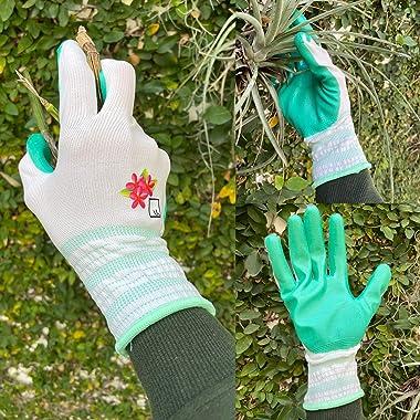 Gardening Gloves for Women Gardening Gifts for Women Garden Gloves Womens Gardening Gloves Nitrile Coated Womens Work Gloves