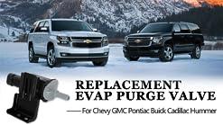 Vapor Canister Purge Valve Solenoid EVAP For Chevy IMPALA MALIBU TRAILBLAZER EXT