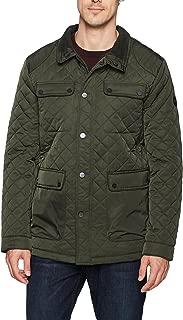 Bernardo Men's Jon Water Resistant Quilted Field Jacket