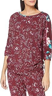 Joe Browns Women's Floral Leopard Loungewear Batwing Top Pajama
