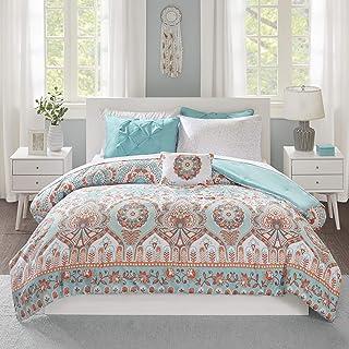 Intelligent Design Complete Bag Casual Boho Comforter with Sheet Decorative Pillow, All Season Bedding Set, Queen, Vinnie ...