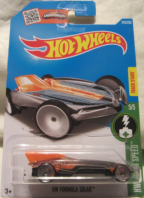 HW Formula Solar Hot Wheels 2016 HW Green Speed 1 64 Scale Collectible Die Cast Metal Toy Car Model  5 5 on International Long Card