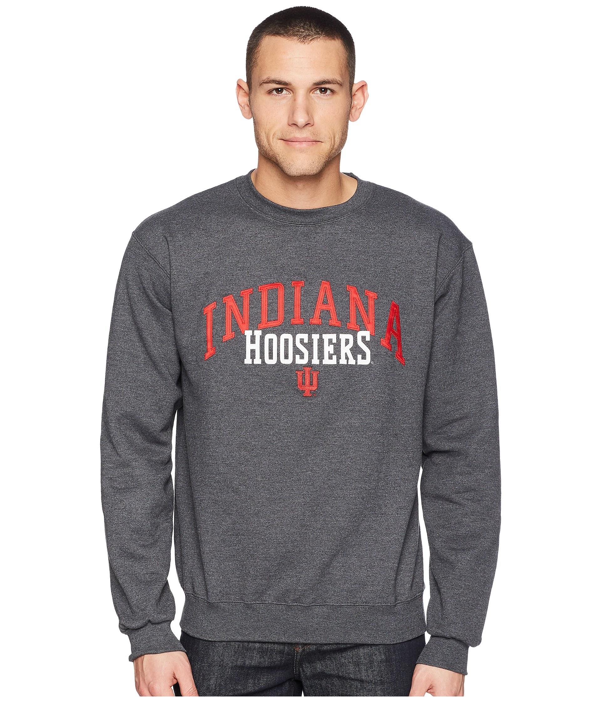 Buzo o Chaqueta Deportiva para Hombre Champion College Indiana Hoosiers Eco® Powerblend® Crew  + Champion en VeoyCompro.net