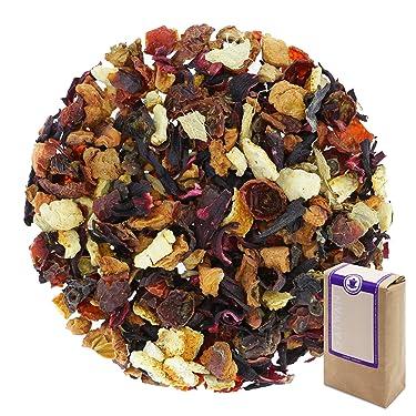 "Núm. 1336: Té de frutas ""Frutas de la navidad"" - hojas sueltas - 250 g - GAIWAN® GERMANY - rosa mosqueta, manzana, hibisco, cassia, naranja, jengibre"