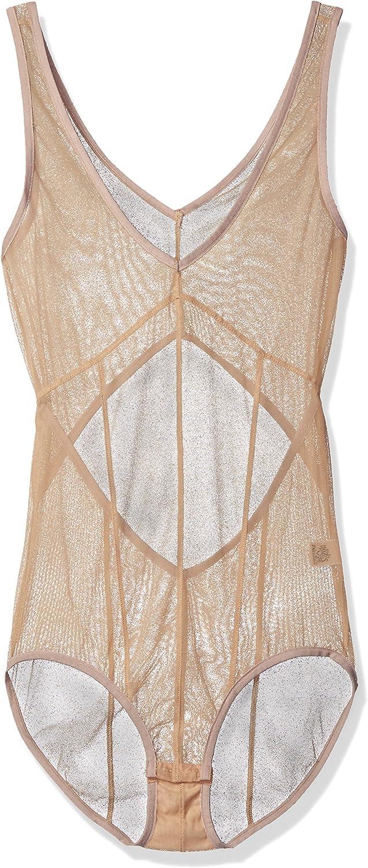 Only Hearts Womens Whisper Seamed Bodysuit Lingerie Set