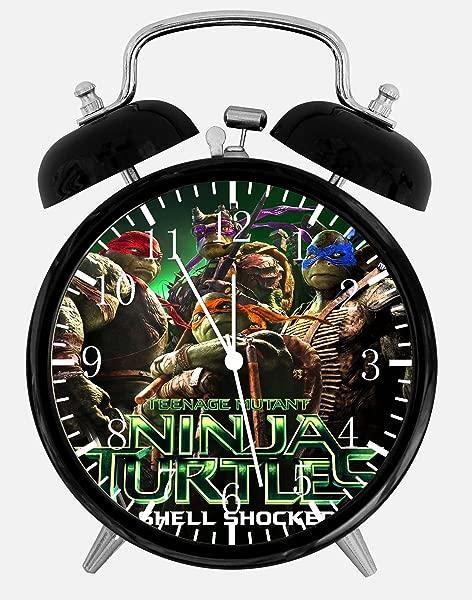 忍者神龟双铃闹钟 4 家庭办公室装饰 A473 礼物