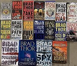 Brad Thor Political Thriller Collection 14 Book Set