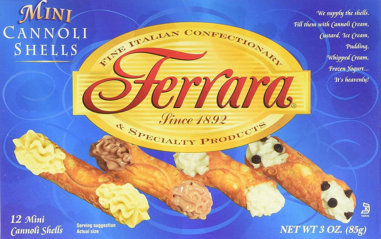 Ferrara - Mini Cannoli Boxes oz. Shells Cheap SALE Start We OFFer at cheap prices 3