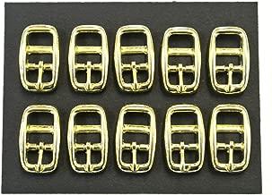 Riemen Leder etc. 20/mm Messing vergoldet caveson Schnallen X5/F/ür Halsb/änder