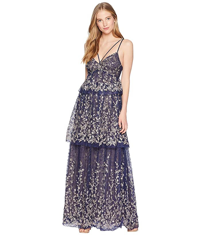 Bcbgmaxazria Tiered Evening Dress 6pm