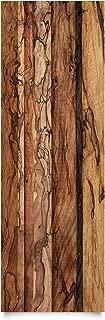 Apalis Klebefolie Holzoptik - Holzwand Flamed - Dekorfolie Holz 50 x 50 cm