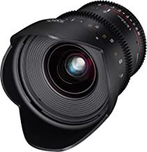 Rokinon 20mm T1.9 Cine DS AS ED UMC Wide Angle Cine Lens for Micro Four Thirds Mount