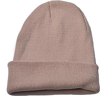 Woogwin Womens Beanie Winter Knitted Hat Mens Wool Warm Slouchy SKi Beanie  Cap 80e96ade7032