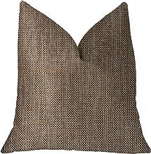 "Plutus Brands Plutus Ganache Luxury Throw Pillow, 26"" x 26"""