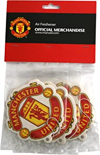 Manchester United FC Set of 3 Air Fresheners – Official Manchester United Product..