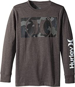 Hurley Kids - Camofill Tee (Big Kids)