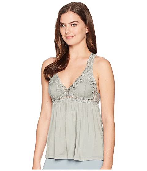 Eberjey Colette The Racerback Cami Thyme Buy Cheap Recommend hKVwdGHceR